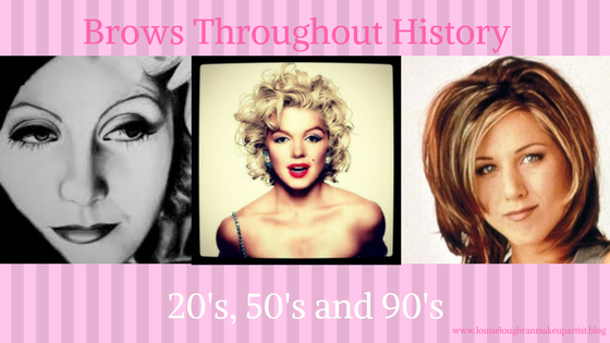 Brows Thoughout History